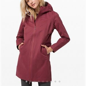Lululemon Rain Rebel Jacket cotton